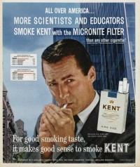Smoking Kent Asbestos Cigarettes