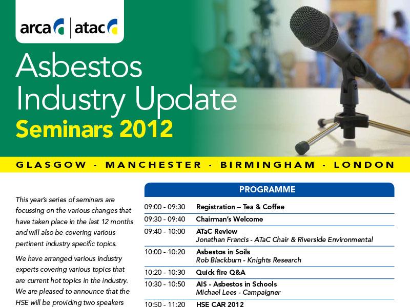 Oracle Solutions To Chair Asbestos Industry Update Seminar 2012