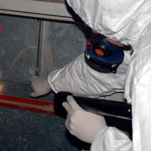 Asbestos Consultant Carrying out Asbestos Surveys