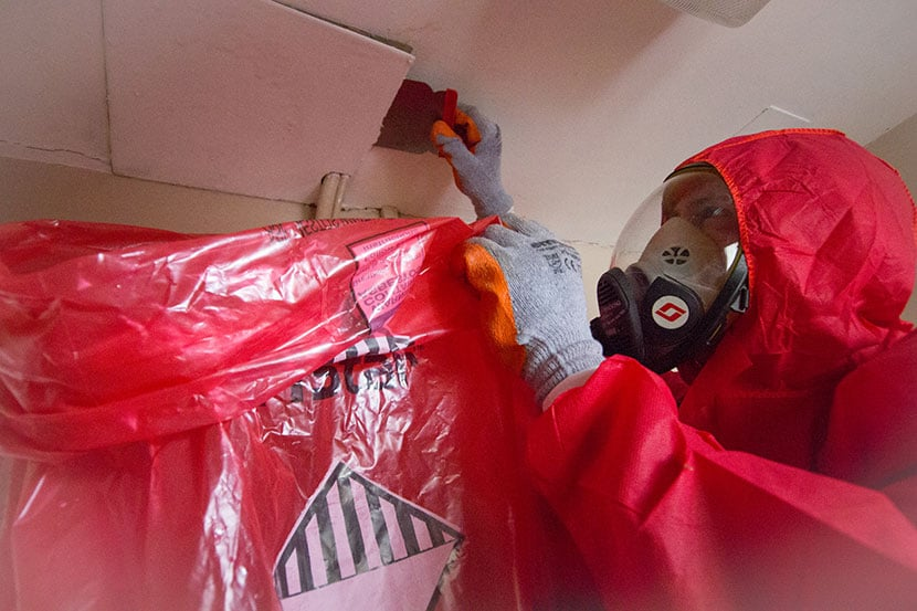 What is asbestos abatement?
