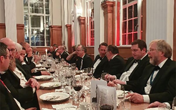 Oracle Attend The Worship Company of Pattenmakers, Facilities Management & Built Environment Annual Dinner