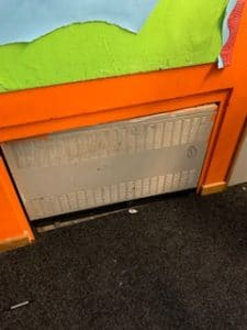Case Study: Oracle Remove Asbestos Containing Heaters From School 3