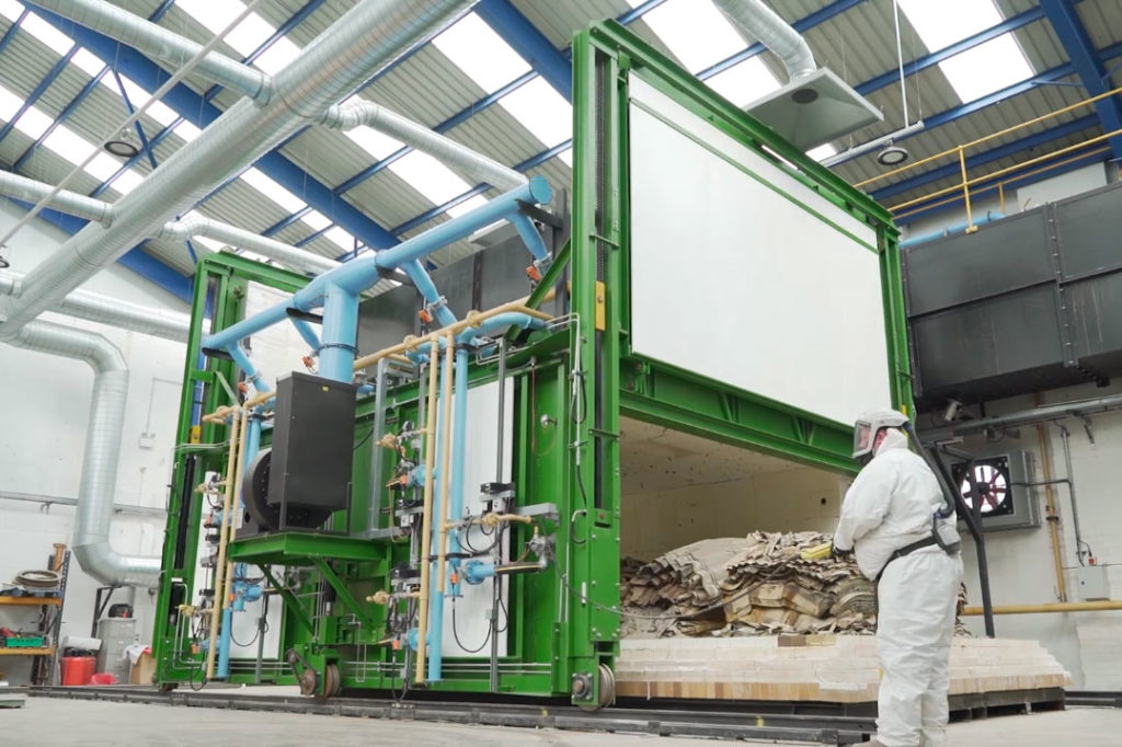'World first' process sees asbestos converted into new and safe building material 1