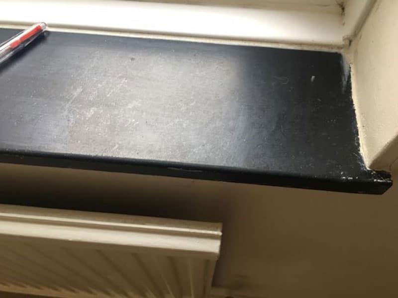 Cement Windowsills