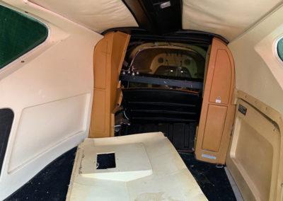 asbestos in an aeroplane
