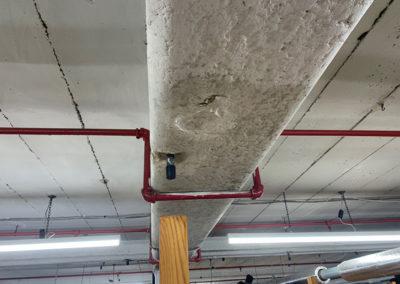 Asbestos Sprayed Insulation