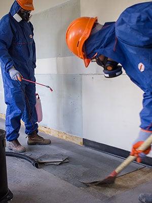 floor tile removal asbestos