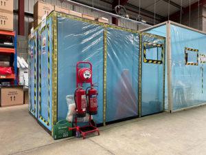 asbestos removal enclosure